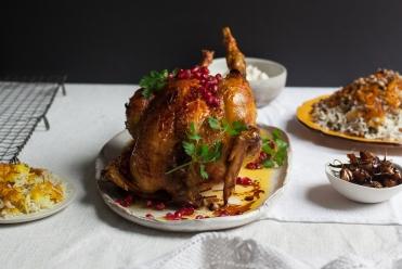 Persian levanghe chicken
